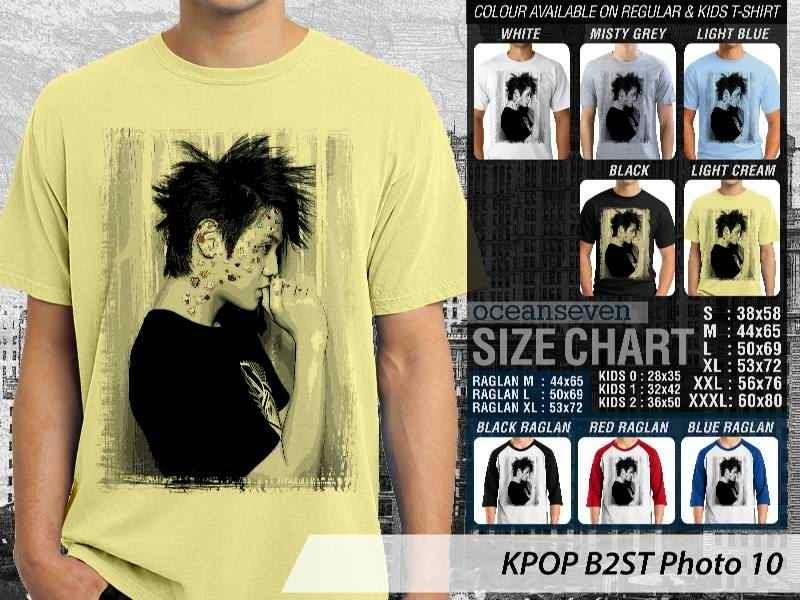 Kaos B2st 10 Photo K Pop Korea distro ocean seven