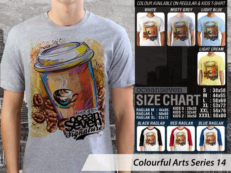KAOS keren Colourful Arts Series 14 | KAOS Colourful Arts Series 14 distro ocean seven