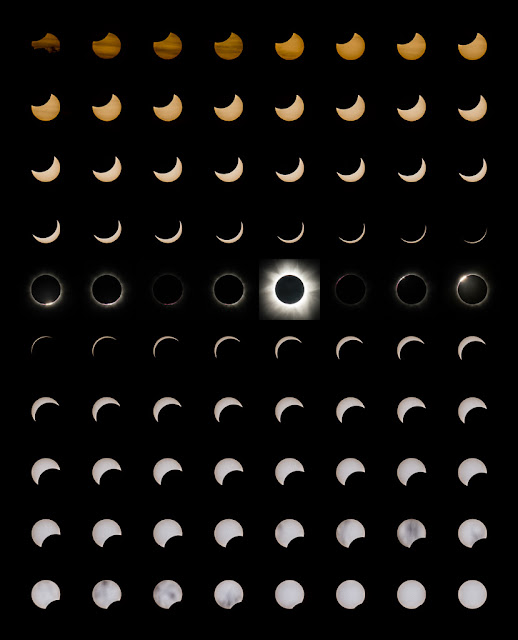 Total Solar Eclipse 13/14 Nov 2012 #8 - Phases