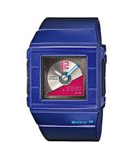 Jam Tangan Pria Formal Tali Kulit Hitam Casio Edifice : EFR-553L-1BV