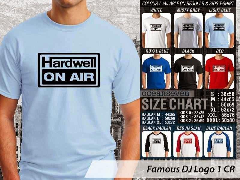 KAOS Musik DJ 12 Hardwell On Air distro ocean seven