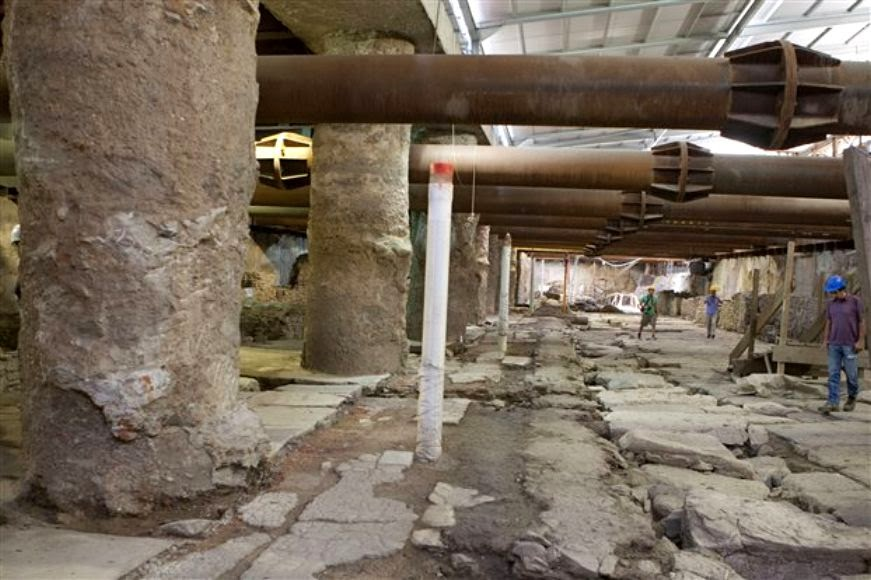 Antiquities to remain on site at Thessaloniki Metro