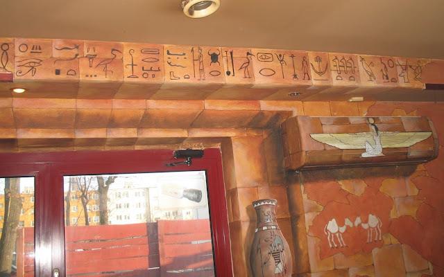 Malowidła ścienne w barze, inowrocław