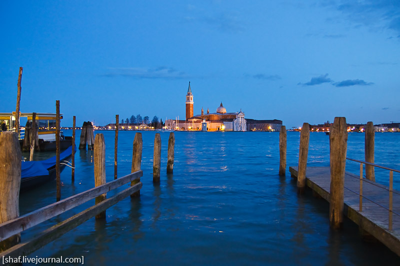 Италия, Венеция, собор Сан-Джорджо Маджоре (San Giorgio Maggiore)