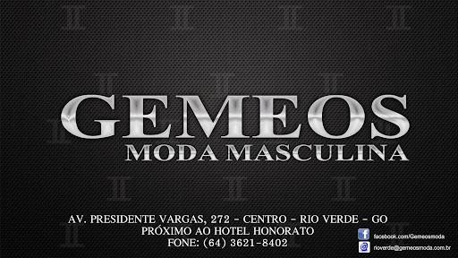Gemeos Moda Masculina, Av. Pres. Vargas, 272 - Jardim Goias, Rio Verde - GO, 75903-290, Brasil, Loja_de_Vestuário_Masculino, estado Goiás