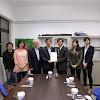 國際商務系與ETS台灣區代表忠欣股份有限公司簽約與辦理校園多益考試圓滿成功