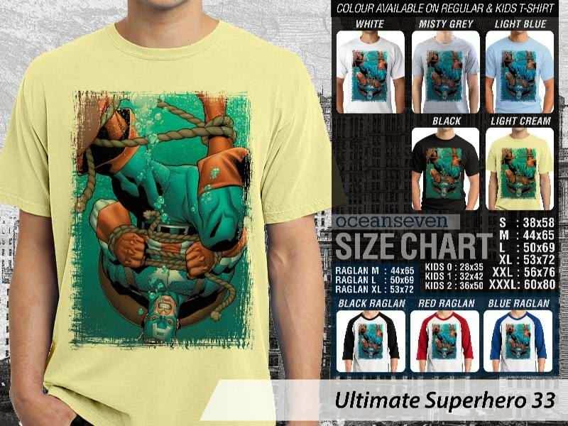 KAOS captain america 33 Ultimate Superhero distro ocean seven