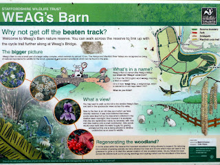 Weags Barn Information Board