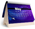 Electric wave 2012 calender template