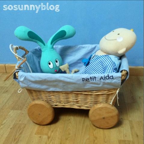 Carrito de juguetes. DIY toy cart