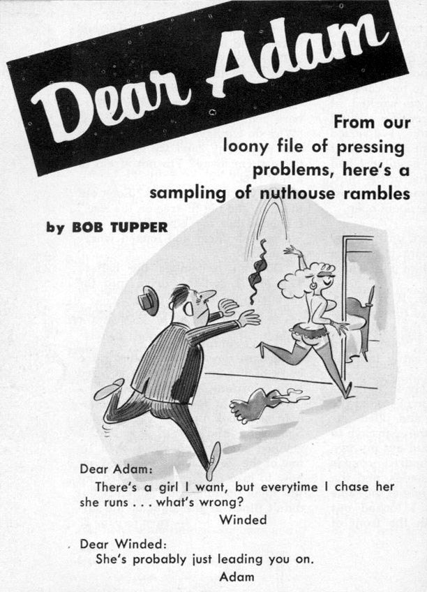 "Bob Tupper, ""Dear Adam,"" 1959"