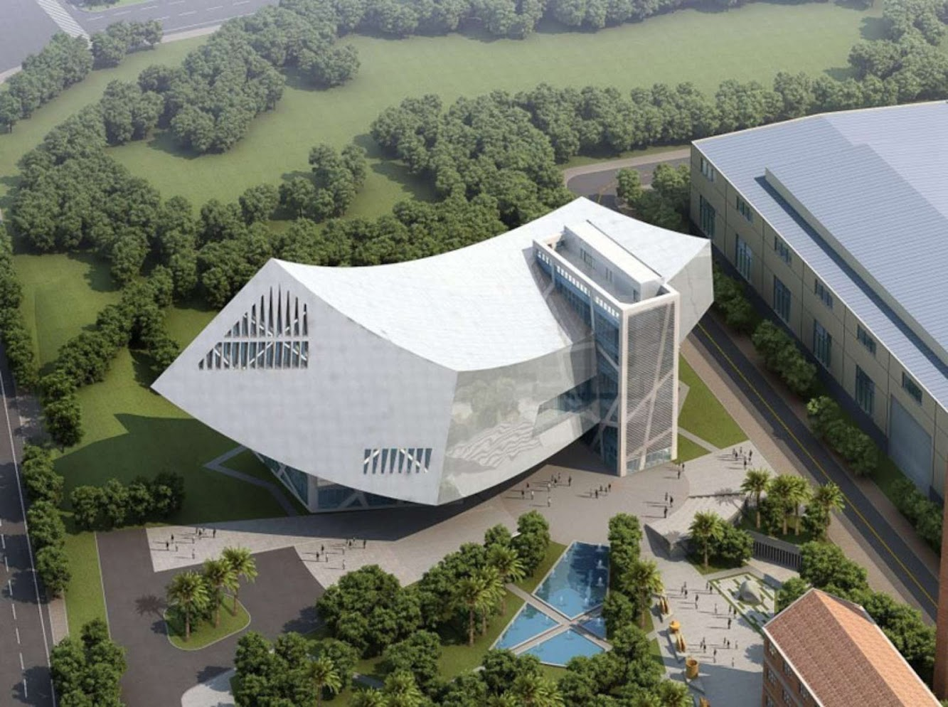 Zhang Zhidong And Modern Industrial Museum by Daniel