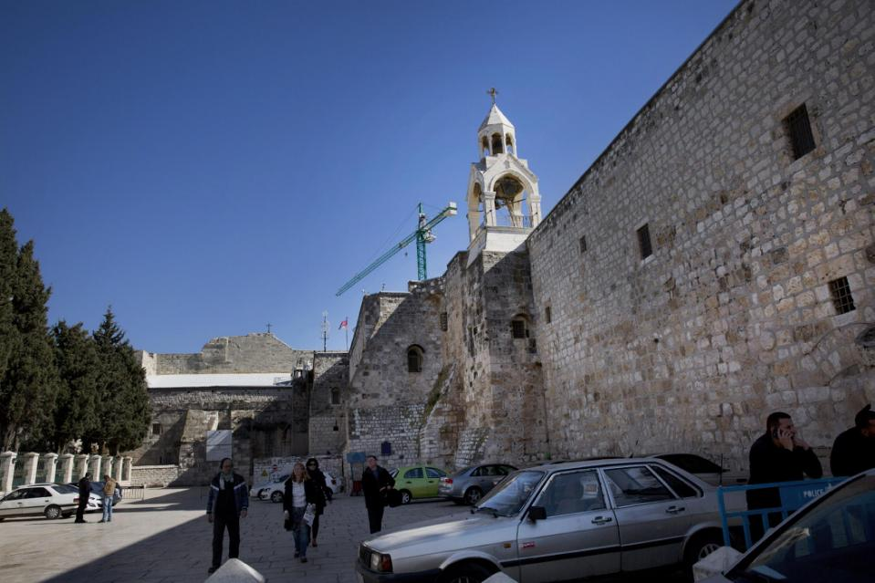 First phase of Bethlehem's Church of the Nativity restoration completed