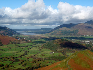 Looking towards Bassenthwaite Lake