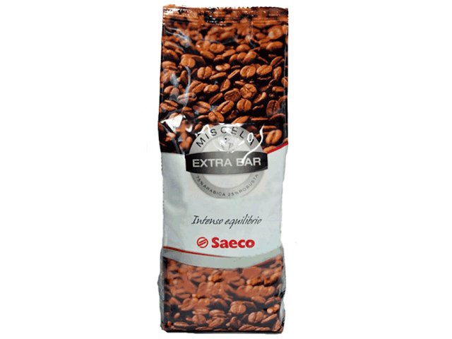Caffe in grani Saeco Extra Bar 250 gr. - 0