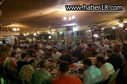 Çankırı Milletvekili Akbaşoğlu, Gençlere Sahur Yemeği İkram Etti