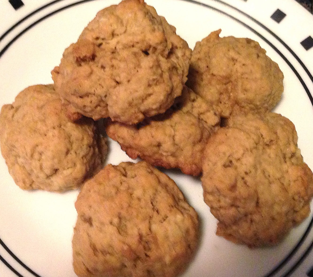 Candied Ginger Oatmeal Cookies