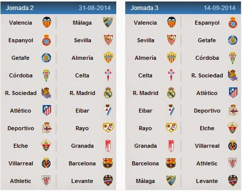 spanish la liga league fixtures