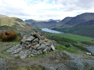 Rannerdale Knotts summit to Buttermere