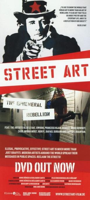 Street Art. Dyskretna rebelia / Street Art - The Ephemeral Rebellion (2009) PL.TVRip.x264 / Lektor PL