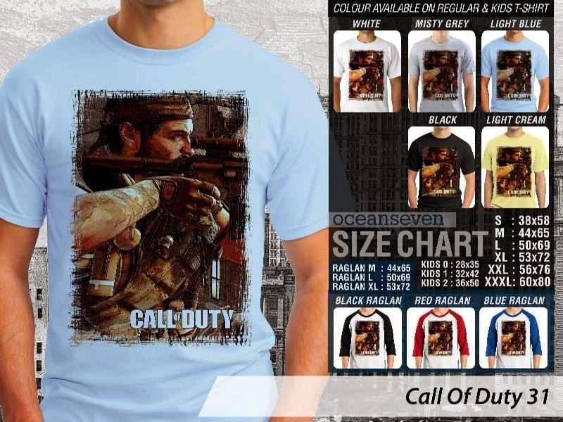 KAOS cod Call Of Duty 31 Game Series distro ocean seven