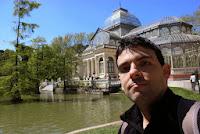 Palacio de Cristal tapado