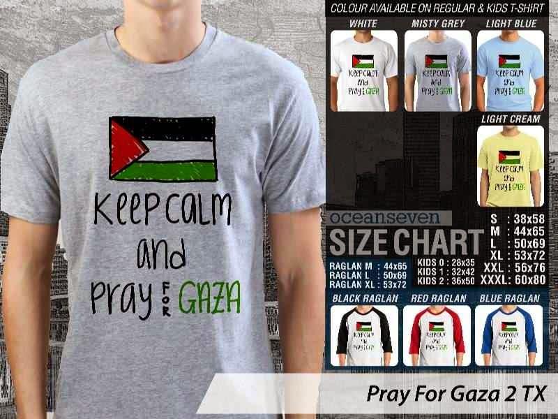 Kaos Muslim Islam Pray For Gaza 2 distro ocean seven