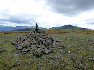 Bowscale Fell Summit with Blencathra