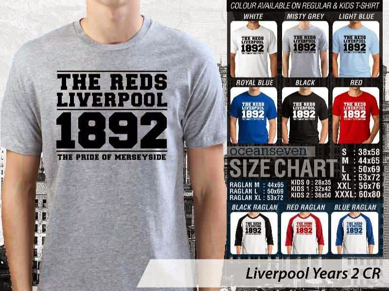 KAOS Liverpool 29 Liga Premier Inggris distro ocean seven