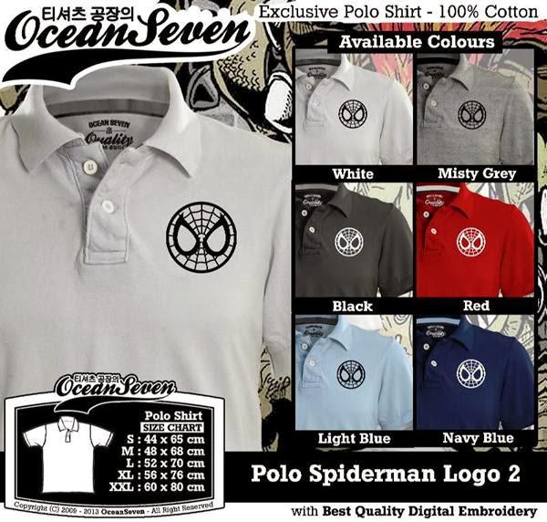 POLO Spiderman 2 Logo distro ocean seven