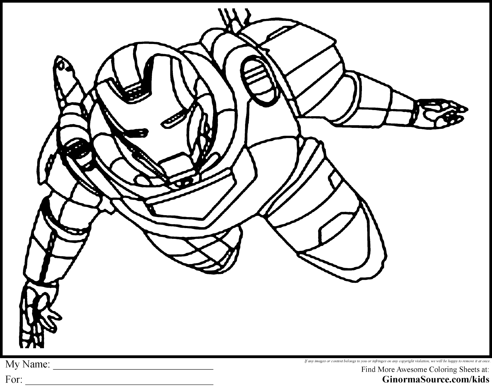 super hero coloring pages - Superhero Coloring Pages Spiderman Coloring Pages 4 U