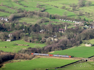 The Train Arrives In Edale