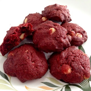 Red Velvet Soft Cookies