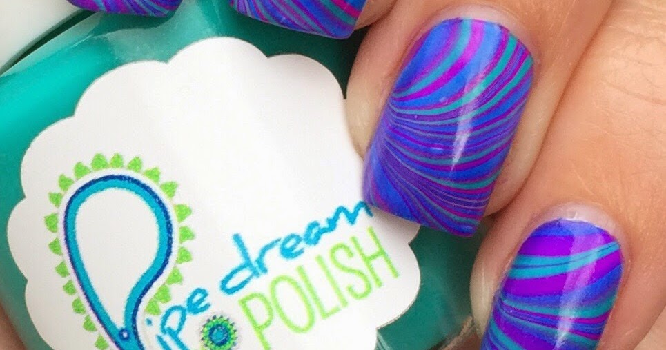 Aggies Do It Better Pipedream Polish Watermarble Plus Video