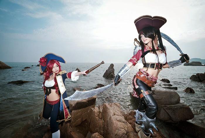 Miyuko gợi cảm với cosplay Katarina - Ảnh 1