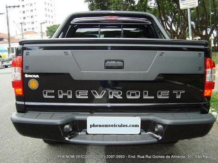 Chevrolet S10 Cabine Dupla 2010 2.4 Flex Advantage - traseira