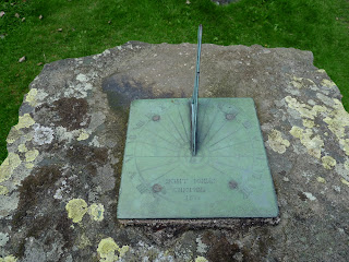 Sun Dial at St Johns in the Vale Church