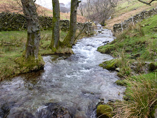 Lots of water in Hag Gill today
