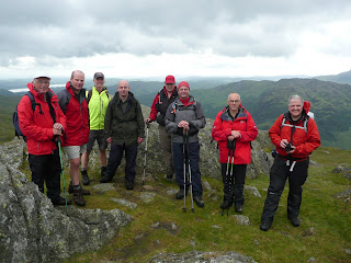 A gathering on Blea Rigg