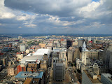 View from the 45th floor of the Comcast center - I'm here for the Philly ruby meetup