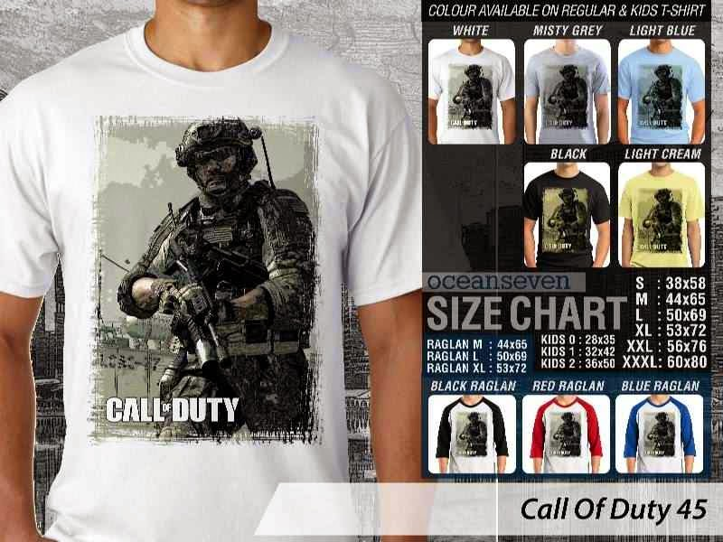 KAOS cod Call Of Duty 45 Game Series distro ocean seven
