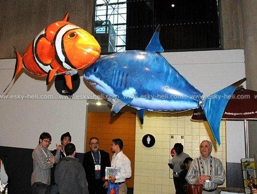 Летающая рыба на радиоуправлении от E-Sky