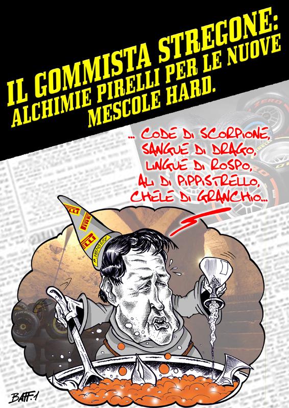 алхимик Pirelli готовит новый комплект жесткой резины - комикс Baffi
