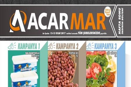 Acarmar 13-15 Ocak Hafta Son İndirimleri