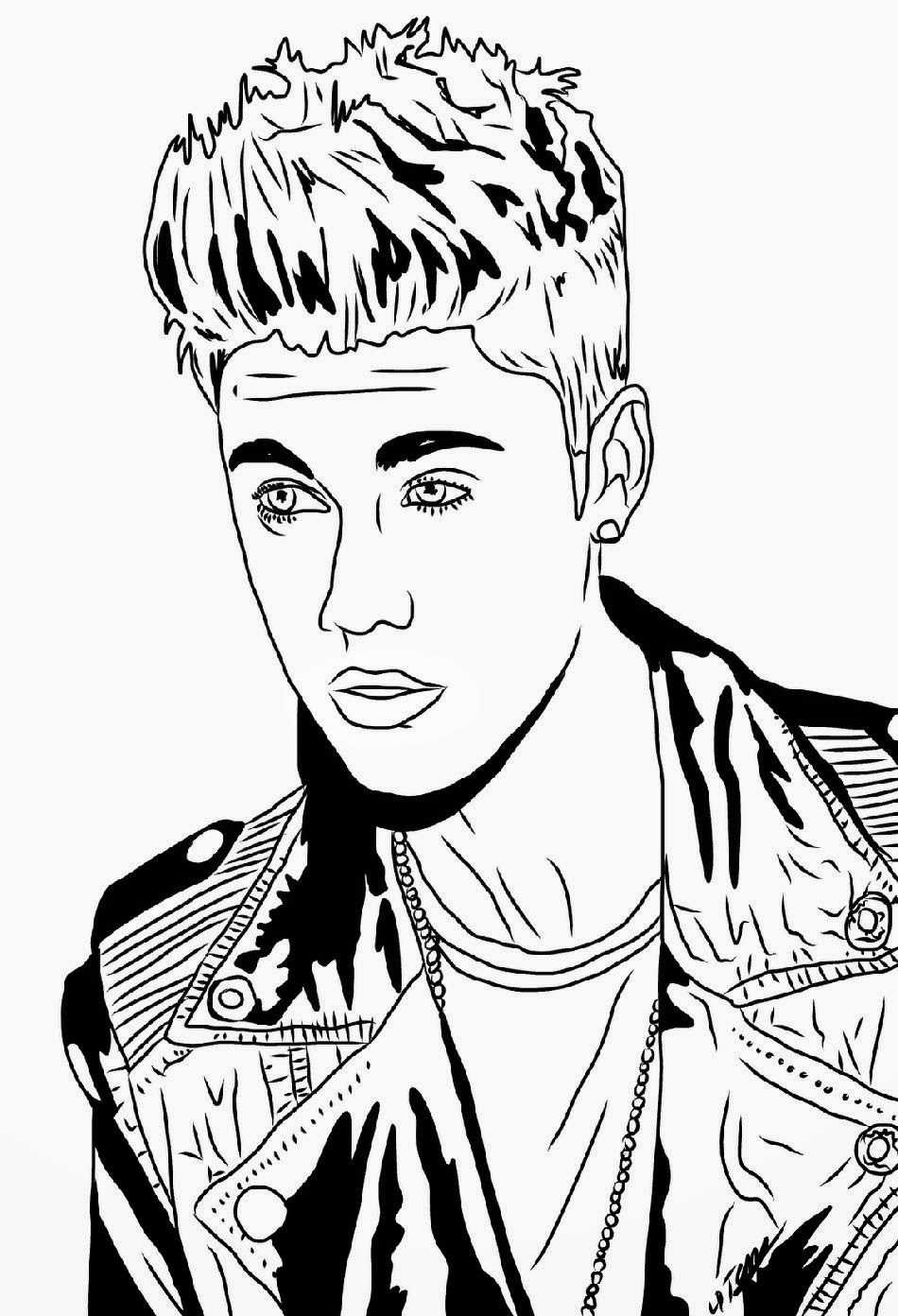 coloring pages of justin bieber - Justin Bieber Coloring Pages Coloring Pages Printables