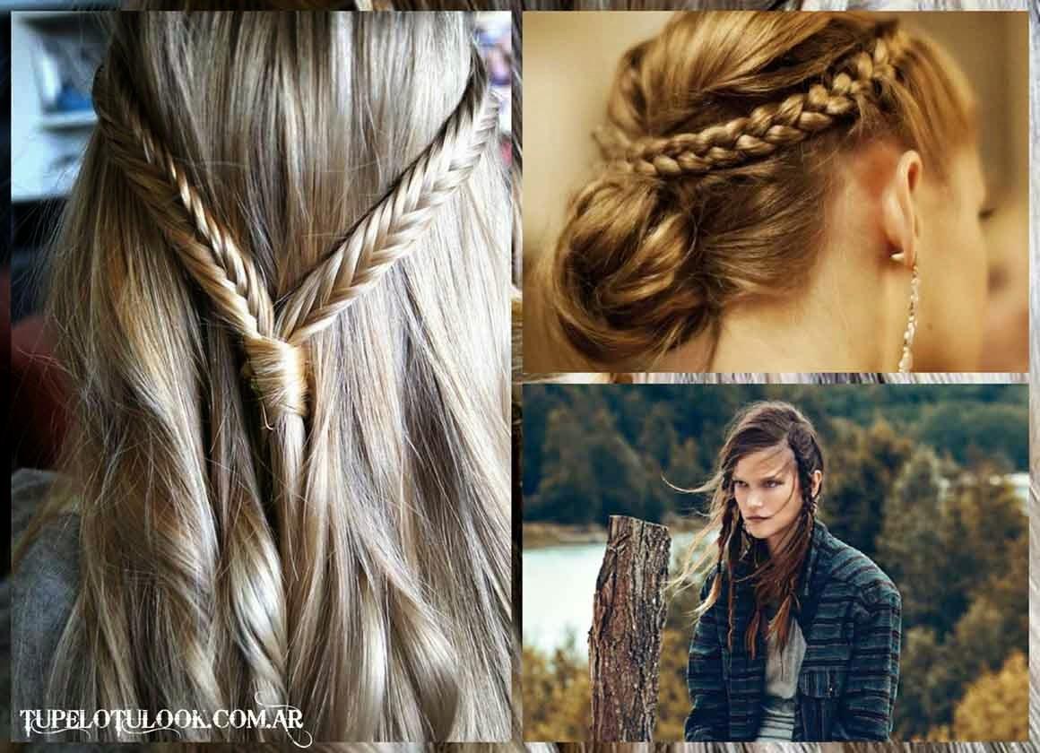 peinados para pelo liso con trenzas peinados sencillos rapidos y bonitos con trenzas