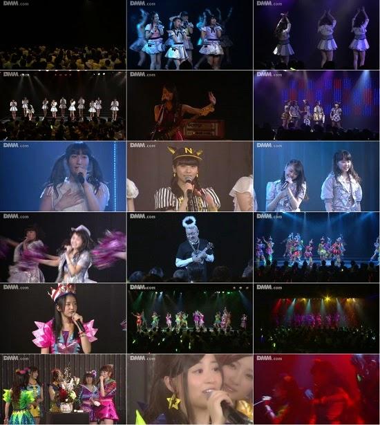 """(LIVE)(公演) NMB48 チームN """"ここにだって天使はいる"""" 上西恵の生誕祭 150119"""