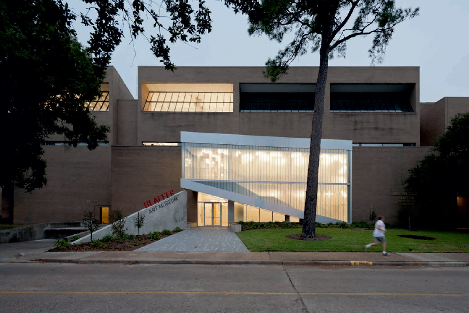 Houston, Texas, Stati Uniti d'America: [BLAFFER ART MUSEUM BY WORKAC]