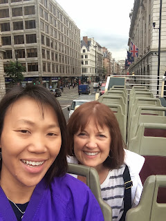 2nd Day bus tour of London