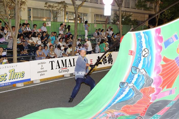 第60回よさこい祭り☆本祭1日目・追手筋本部競演場75☆上1目2004